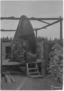 9.Raskas Ilmatorjuntapatteri, Käpylä 26.10.1944. SA-kuva-arkisto, Puolustusvoimat.